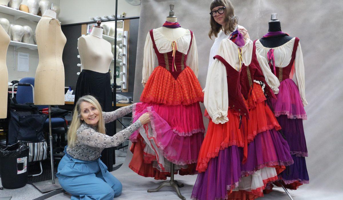 Step behind the seams with Opera Queensland wardrobe team