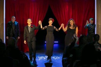 Rebecca Cassidy Performs 'Addio Del Passato'